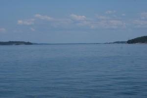 Östersjön när den är som vackrast. Baltic Sea is beatiful. Itämeri kauneimmillaan.
