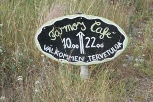 Farmors café på Högsåra. Grandma´s café in Högsåra. Mummon kahvila Högsårassa.
