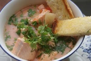 Fiskgryta, fish stew, kalapata