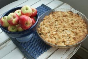 Äppelpaj, apple pie, omenapiirakka