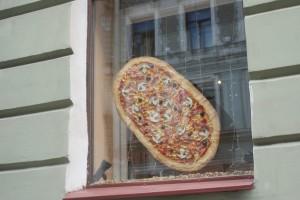 Pizzareklam, pizza advertisement, pizzamainos