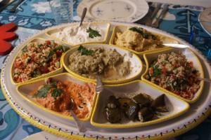 Libanesisk mat, libanese food, libanonilaista ruokaa