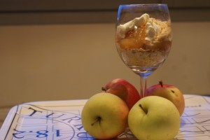Änglamat, vickarage´s reserve dessert, pappilan hätävara
