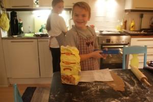 Bakning, baking, leipominen