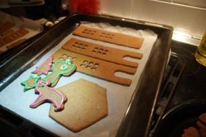 Pepparkakor, gingerbread, piparkakut