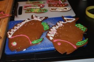 Pepparkakor, gingerbread, piparkakkuja