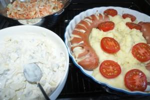 Ugnskorv, sausage in oven, uunimakkara