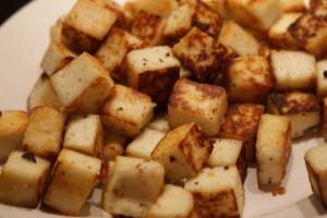 Stekt, fried, paistettu paneer