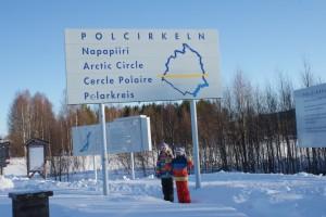 Polcirkel, arctic circle, napapiiri