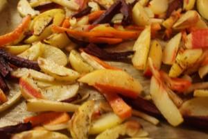 Ugnbakade rotsaker, roasted root vegetables, uunijuurekset