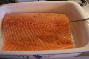 Lax, salmon, lohi