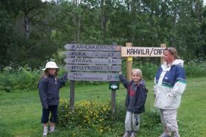 Karhunkierros, Kuusamo
