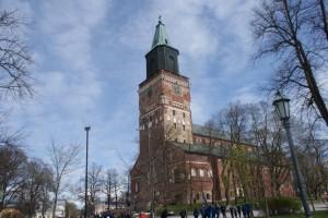 Åbo domkyrka, Turku cathedral. Turun tuomiokirkko