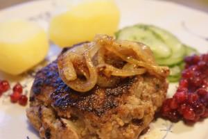 Pannbiff, Swedish beef, pannupihvi