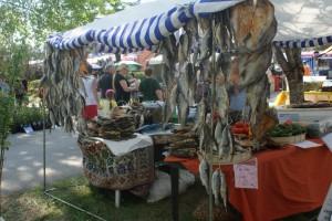 Torkad fisk, dried fish, kuivattua kalaa