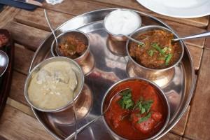 Meat Thali
