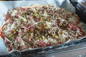 Rysk pizza, Russian pizza, venäläinen pizza