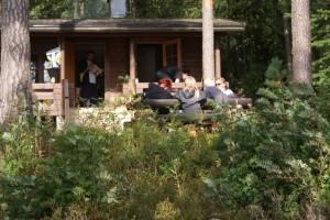Svamputflykt, mushroom hunting, sieniretki