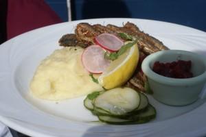 Stekt strömming, fried herring, paistettua silakkaa