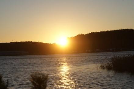 Solnedgång, sunset, auringonlasku