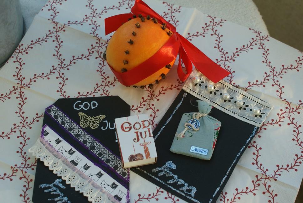 Julpyssel, Christmas hobby crafts, jouluaskartelua