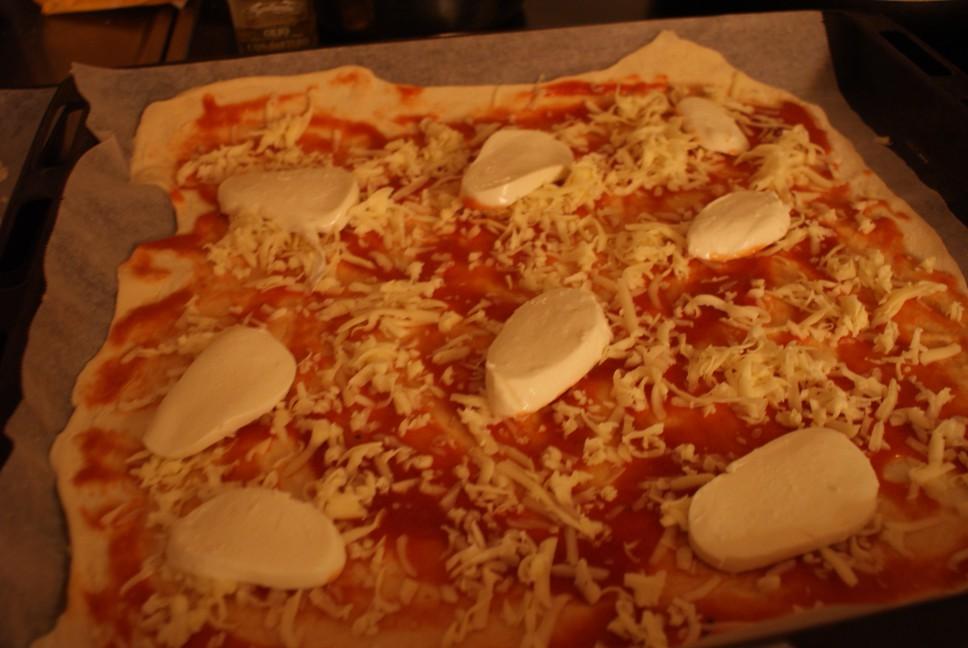 Pizza/mozzarella
