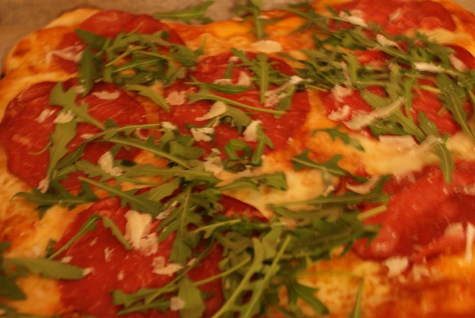 Pizza/Bresaola
