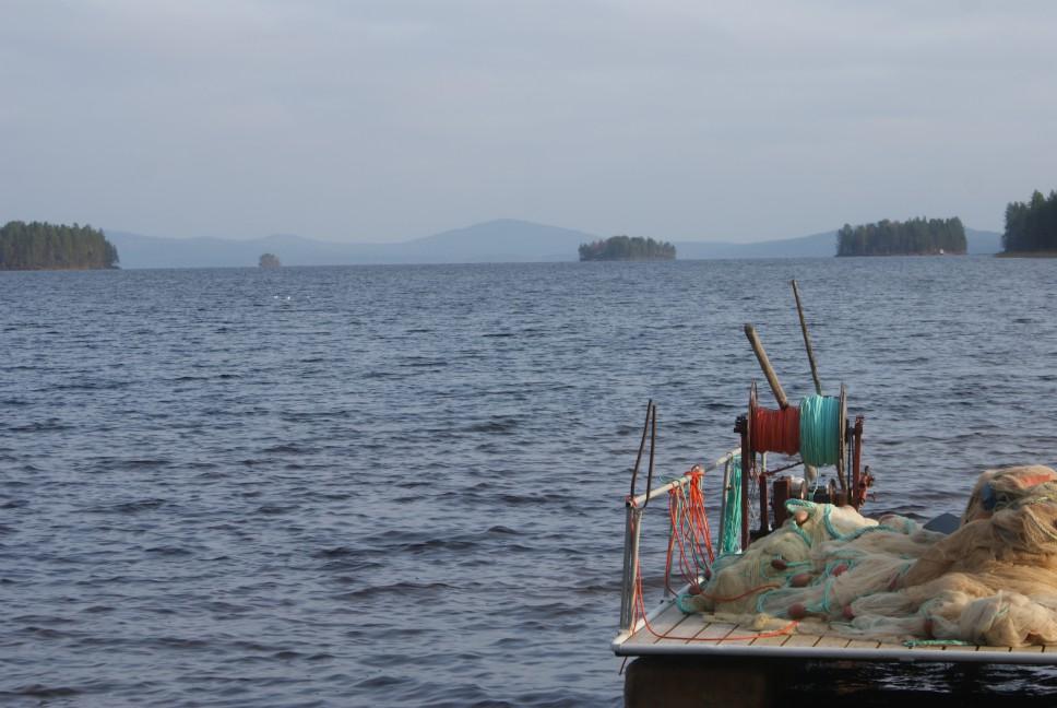Kitkasjö, lake Kitka, Kitkajärvi