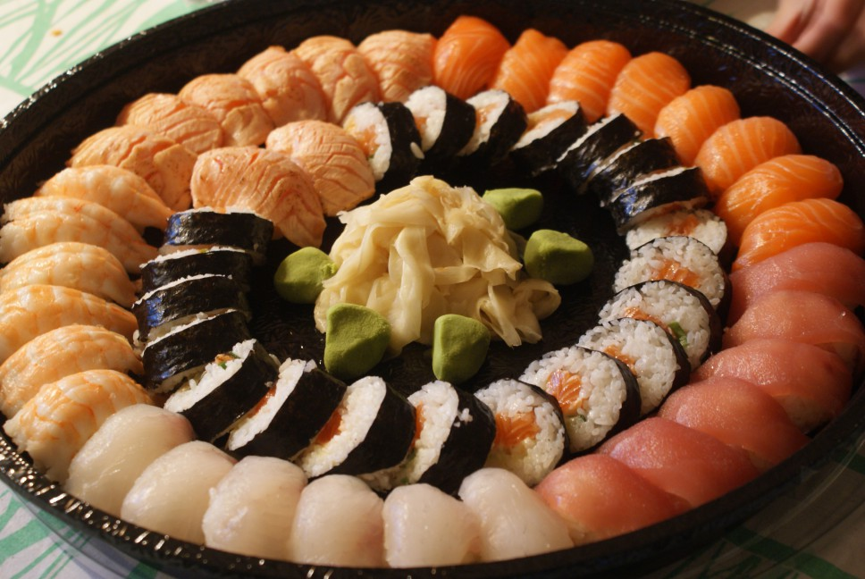 Party plate/sushi