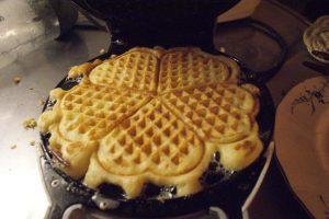 Potatisvåfflor, potato waffles, perunavohvelit