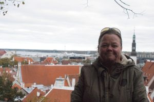 Jag i gamla stan, me in the old city, minä vanhassa kaupungissa