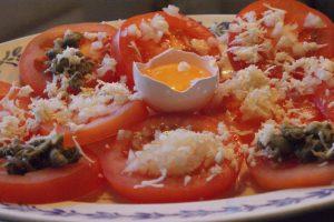 Tomattartar, tomato tartar, tomaattitartar