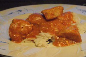 Kyckling Korma, chicken Korma, kanaa Korma