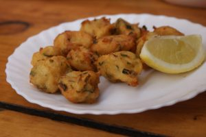 Friterad fisk, fried fish, friteerattua kalaa