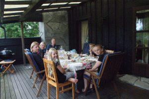 Grillkväll, barbecue, grilli-ilta