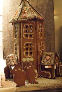 Pepparkakshus, gingerbread house, piparkakkutalo