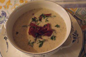 Karljohansoppa, porcini mushroom soup, herkkutattikeitto